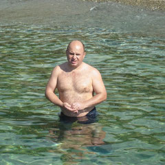 schön im Wasser