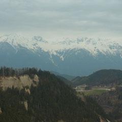 auf der Rückfahrt durch Österreich