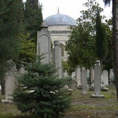 Friedhof in der Moschee