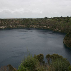 Blue Lake in Mt.Gambier