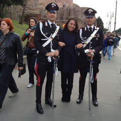 "auf der ""Via dei Fori Imperiali"""