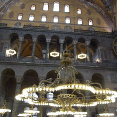 in der Hagia Sophia Moschee