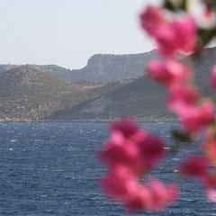 Blick nach Griechenland