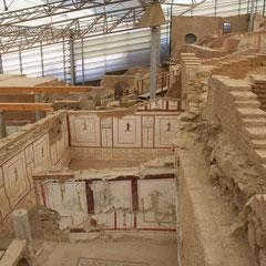 Terrassenhäuser in der Ausgrabungsstätte Ephesos
