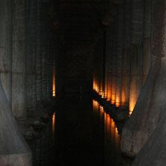 Yerebatan Sarayi - die unterirdische Zisterne