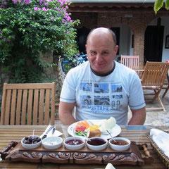 Frühstück im Hotel Nilya Selçuk