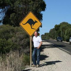 unsere letzten Shilder auf Kangaroo Island