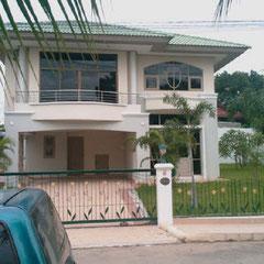 Kevin's Haus etwas ausserhalb von Bangkok