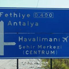 weiter geht es Richtung Fethiye