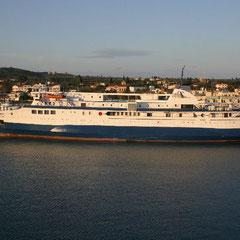 Überfahrt Kyllini - Zakynthos