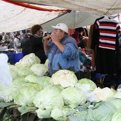 der Großen Markt außerhalb Kadiköys (Sali Pazari)