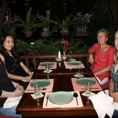 das letzte gemeinsame Thai Abendessen