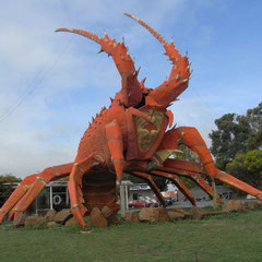 EIn Lobsterrestaurant - (von hier habe wir uns als erstes per Internet mit einer kurzen Zwischenbilanz gemeldet)
