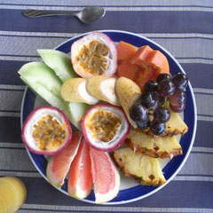 der tägliche Fruchtteller