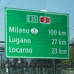 nicht mehr weit bis Italien