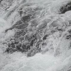 am Rheinfall in Schaffhausen