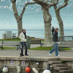 bei der Anfahrt nach Tremosine immer am Gardasee entlang