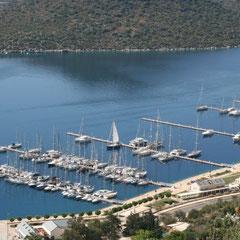 der neue Yachthafen von Kaş