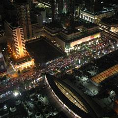 ein letztes mal hoch über Bankok