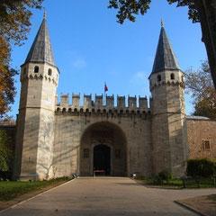 Eingang zum Topkapi Palast