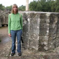 ein Beispiel welchen Durchmesser die Säulen hatten