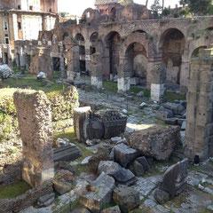 "Ausgrabungsstätten an der ""Via dei Fori Imperiali"""