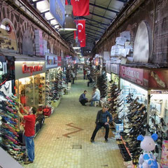 der große Basar von Bursa