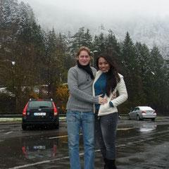 und in der Schweiz fing es wieder an zu schneien