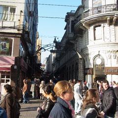 In der Fußgängerzone vom Taksim Platz zur Tünel Bahn