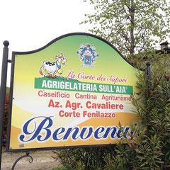 """ein weiterer Ausflug führte uns zur """"Agrigelateria Sull'aia in""""Rivoltella di Desenzano del Garda"""""""