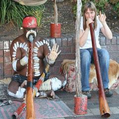 mit einem Aborigines