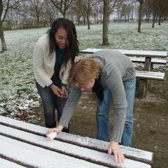 für Anne der erste Schnee,