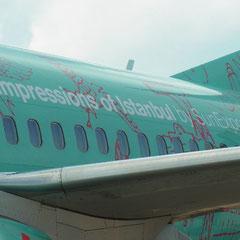 mit SunExpress ging es nach Istanbul - Sabhia Gökcen Airpot