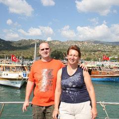 unsere Urlaubsbekanntschaft Elke und Uwe