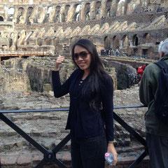 Anne  im Coloseum