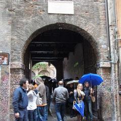 """auf dem Weg zum Balkon von """"Romeo und Julia"""""""