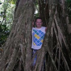 in Pete's Lieblingsbaum setzten wir uns rein