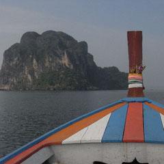 Anfahrt auf Koh Ngai