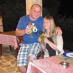 lecker, ein Wilkommensgruß von meinem Bruder Volker der im Juli hier in  Kaş seinen Urlaub verbrachte