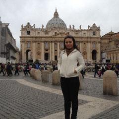 vor dem Vatikan