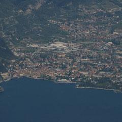 Das Ende vom Gardasee. Riva del Garda