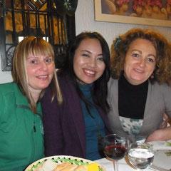 drei Damen unter sich