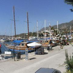 Spaziergang im Hafen