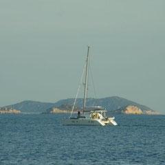 hier die Aussucht in einer Bucht bei Fethiye
