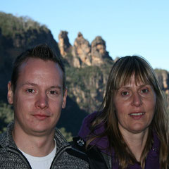 in den Blue Mountains