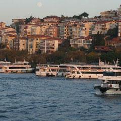 Bootsfahrt auf dem Bosporus