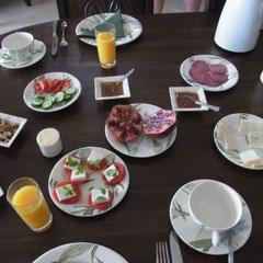 gemütlich lecker Frühstücken