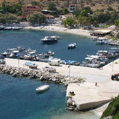 der Hafen von Agios Nikolaos
