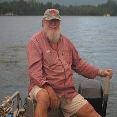 Dan Irby - mit dem wir eine ganz tolle unvergessliche Tour in die Nacht auf dem Daintree River machten