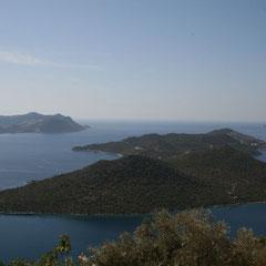 die Halbinsel bei Kaş